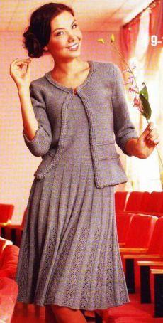 Deuce-chaqueta y el vestido