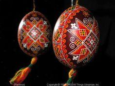 Ukrainian Easter Egg Pysanky 03-196  from the Lviv Region on AllThingsUkrainian.com