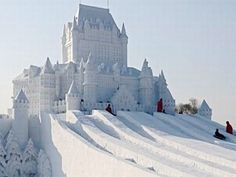 Ce diaporama va vous faire découvrir des sculptures sur glace et sur neige vraiment incroyables. On se demande comment les sculpteurs peuvent avoir autant