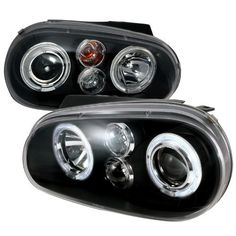 Volkswagon Golf MK4 Dual Halo Black Projector Headlights by Spec-D Tuning, http://www.amazon.com/dp/B0063MI3LC/ref=cm_sw_r_pi_dp_poOfsb1T7HVQK