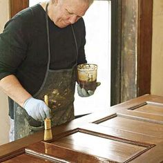 Photo: Wendell T. Webber | thisoldhouse.com | from How to Refinish Woodwork