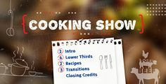 Buy Cooking Show by Red_Box on VideoHive. Cooking Show Pack is specially created to emphasise the style and creativity of your culinary skills. Lower Thirds, Music Pictures, After Effects Templates, You Videos, Best Part Of Me, Funny Cute, Good Music, Picture Video, Cards Against Humanity