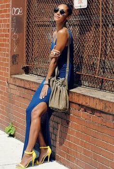 Danielle Audain's Maxi Dress