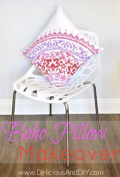 Boho Pillow Makoever