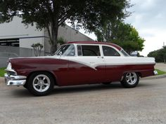 1956 Ford Fairlane Club Sedan! Isn't she a beauty?? ☺