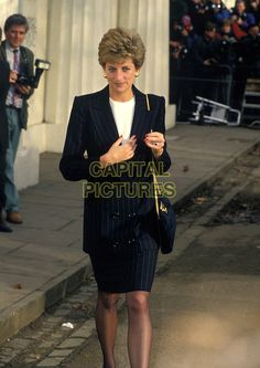December 16, 1993: HRH, THE PRINCESS DIANA OF WALES.at The ICA gallery on The…
