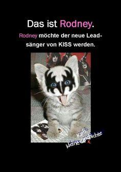 Rodney, Sänger von Kiss