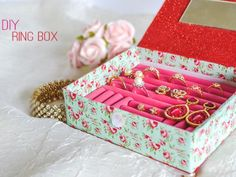 You won't believe what this genius jewelry box is made from.