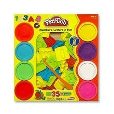 Play Doh Numbers,Letters' N Fun 35 Pieces by HASBRO, http://www.amazon.com/dp/B001JYEWH8/ref=cm_sw_r_pi_dp_5KZGsb1EBTDDS
