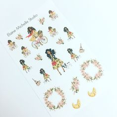 Love my planner stickers from Elaine Michelle Studio on Etsy.