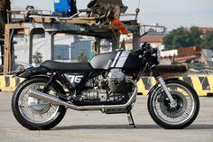 Moto Guzzi 1000 SP café racer by Officine RossoPuro picture - doc353141
