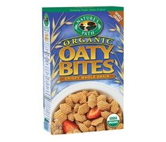 Start Tomorrow Off Right With One of These Under 200-Calorie Cereals. Nature's Path Oaty Bites: 3/4 cup = 110 cals. #SelfMagazine