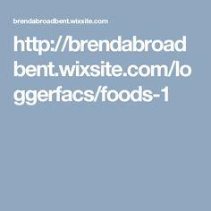 http://brendabroadbent.wixsite.com/loggerfacs/foods-1