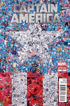 marvel-collages-captain-america by Mr Garcin Marvel Captain America, Ms Marvel, Marvel Vs Dc Comics, Marvel Art, Marvel Heroes, Marvel Avengers, Comic Collage, Comic Art, Comic Books