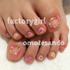 factorygirl toe nails design
