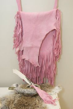 Pink Smudge Bag by HollyHawkDesigns on Etsy, $110.00