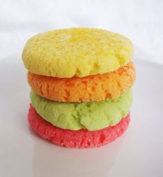 Cookies that smell and taste like Starburst candy!