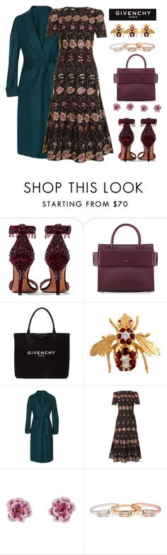 """""""Teal my ❤️️ away"""" by ellenfischerbeauty ❤ liked on Polyvore featuring Givenchy, Agnona, Les Néréides and Bing Bang"""