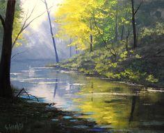 Forest Glow by artsaus.deviantart.com on @deviantART
