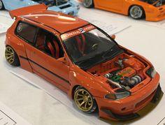 Rc Drift Cars, Custom Hot Wheels, Plastic Model Cars, Bmw E30, Figure Model, Honda Civic, Scale Models, Diecast, Bike