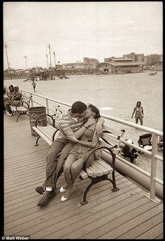 Kiss at Coney Island Pier, Matt Weber