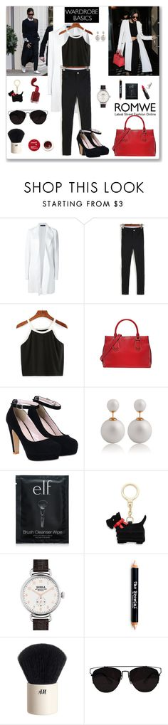 """""""Romwe Pants"""" by ludmyla-stoyan ❤ liked on Polyvore featuring Victoria Beckham, Calvin Klein Collection, Kate Spade, Shinola, The BrowGal By Tonya Crooks, Neutrogena, H&M, Retrò and Korres"""