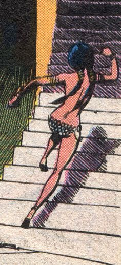 Danielle Moonstar - Art by Bob Mc Leod & Sal Buscema (1983).