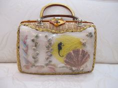 Vintage Tropic Miami Diagram Handbag