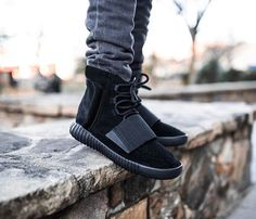 Yeezy Boost 750 TRIPLE BLACK!!!! I need these in my life no matter what.