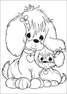 Kids-n-fun.com | 42 coloring pages of Precious moments