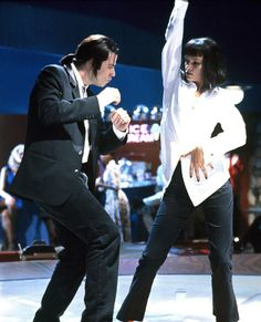 Speaking of Pulp Fiction, John Travolta had a major career comeback in the Quentin Tarantino flick playing Vincent Vega, dancing the twist and earning an Oscar nomination.