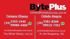 Cartão de Visita - Byte Plus - verso