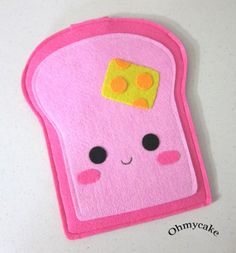 And who said toast couldn't be cute?