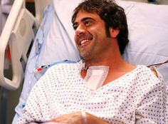 Why don't my patients look like this more?  (Jeffrey Dean Morgan - Grey's Anatomy)