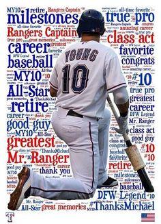 Michael Young Retires As A Texas Ranger. Welcome home, Michael! Texas Baseball, Sports Baseball, Dallas Cowboys, Baseball Cards, Baseball Stuff, Tx Rangers, Rangers Baseball, Dallas Sports, Sports