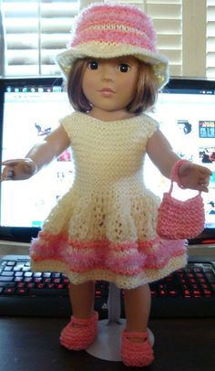 American Doll Crochet Patterns Free | crochet dolls