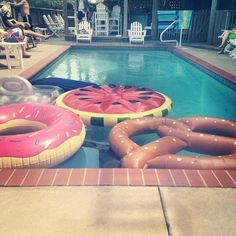 #TGIF, from Sam S. Who wouldn't want to dive in with such deliciousness? -- If I had a pool....