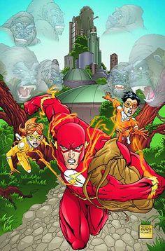 The Flash by Freddie Willians III