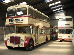 AEC Renown   190 and 113 ex Leicester City Transport   Andrew Tucker   Flickr
