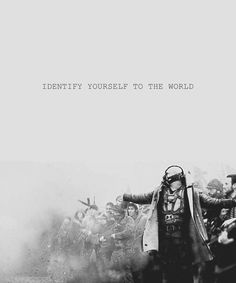 Identify yourself to the world