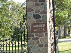 Archer Woods Cemetery a haunted cemetery that is starting to become what Bachelors Grove Cemetery used to be with paranormal activity. Bring your cameras and recorders and attempt some EVP's near the crypts.