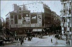 Plaza de Canalejas, 1912