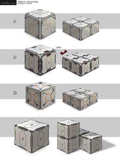 ArtStation - Eden Star Concept Art, Gavin Li
