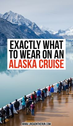 Perfect Alaska Cruise Packing List For Any Time Of Year - Linda On The Run Exactly what to wear on an Alaska Cruise Packing List For Cruise, Cruise Travel, Cruise Vacation, Packing Lists, Cruise Tips, Travel Packing, Usa Travel Guide, Travel Usa, Travel Info