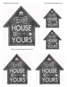 free printable tags for christmas gifts! no colored printer necessary. It makes it look like a chalkboard. Ill be using these for sure this Christmas! Neighbor Christmas Gifts, Neighbor Gifts, All Things Christmas, Winter Christmas, Christmas Holidays, Santa Gifts, Santa Stocking, Christmas Ideas, Merry Christmas