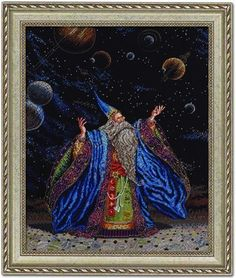 Heirloom Collection Planetarius - Cross Stitch Kit