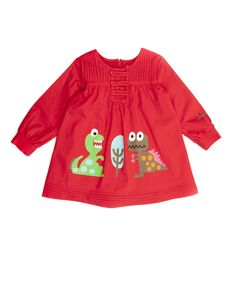Red Jurassic Liso Dress - Infant, Toddler & Girls