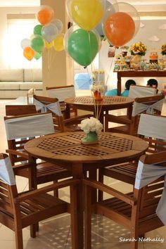 Priscilla Pandolfo - Decoração Personalizada | Volta de Balão com a Família da Peppa Pig - 2º aniversário