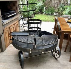 Bbq Pit Smoker, Fire Pit Bbq, Bbq Grill, Backyard Bbq Pit, Backyard Pavilion, Outdoor Barbeque, Outdoor Fire, Bonfire Grill, Parrilla Exterior