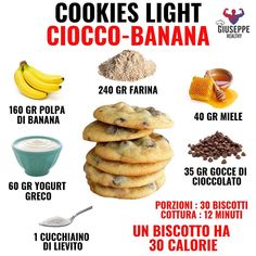 Conseils fitness en nutrition et en musculation. Easy Delicious Recipes, Sweet Recipes, Yummy Food, Healthy Food, Eggless Recipes, Cooking Recipes, Biscotti, Cookies Light, Tips Fitness